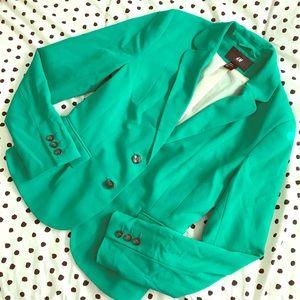 H&M Green Blazer